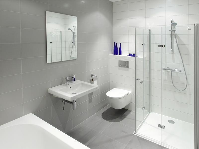 Kleine slaapkamer groter laten lijken for - Kleine badkamer deco ...