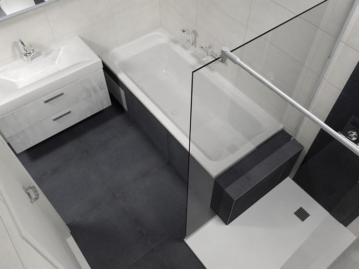 Ontwerp kleine badkamer kleine - Kleine betegelde badkamer ...