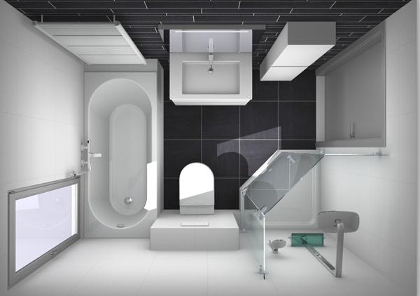 Beroemd 5 voorbeelden voor het indelen van een kleine badkamer #LX72