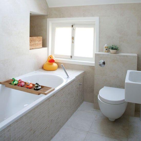 kleine badkamer met schuin dak kleine
