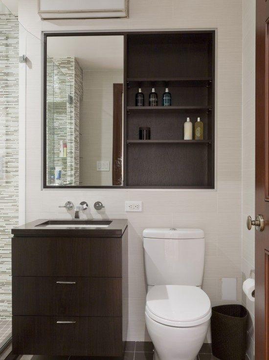 Creatieve kleine badkamer oplossingen kleine for 7 x 4 bathroom designs