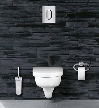 De kleine badkamer volgens grohe kleine - Water badkamer model ...