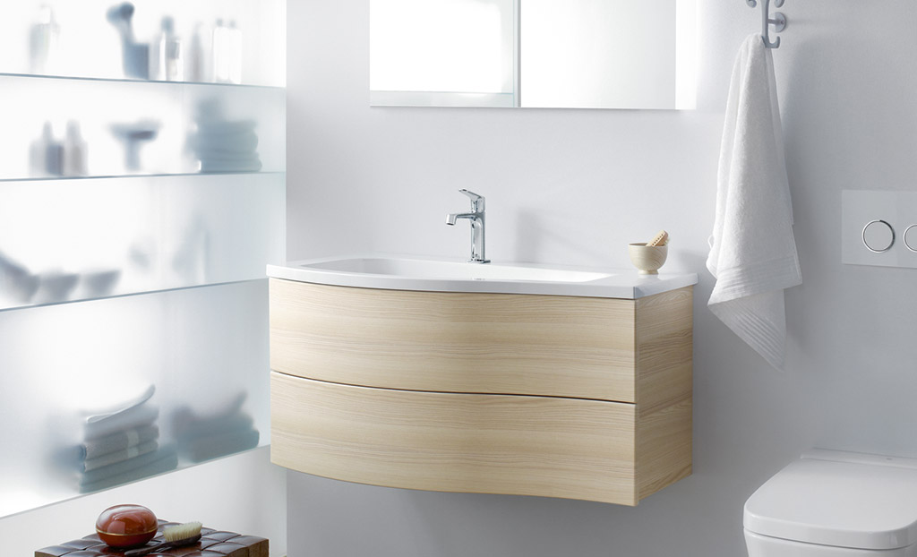 burgbad sinea voor de kleine badkamer kleine. Black Bedroom Furniture Sets. Home Design Ideas
