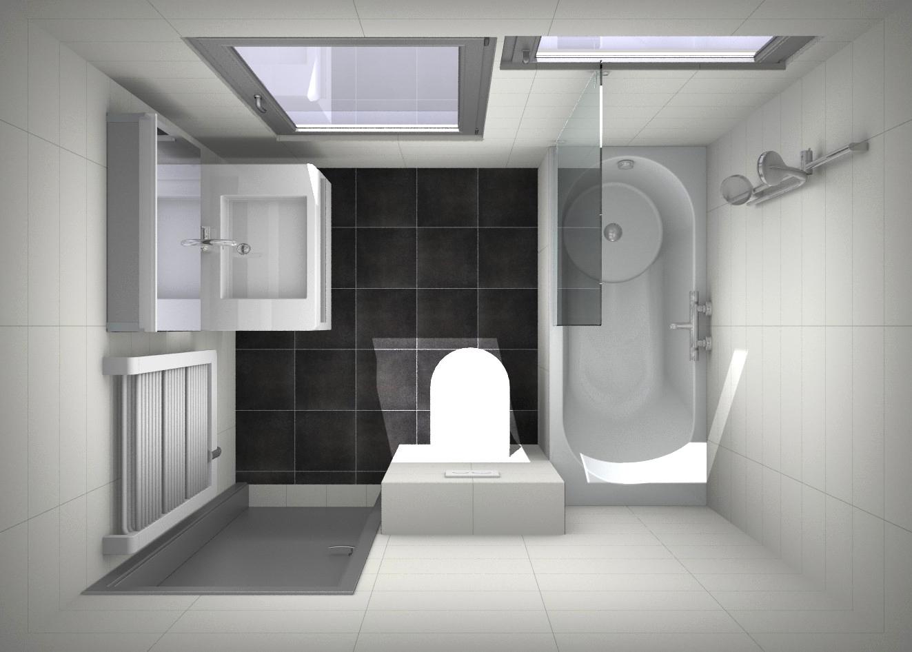 Kleine Badkamer Oplossing : Een paar slimme ontwerpen voor de kleine badkamer