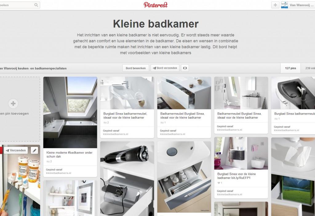 Tip! Doe inspiratie op via Pinterest - Kleine badkamers.nl