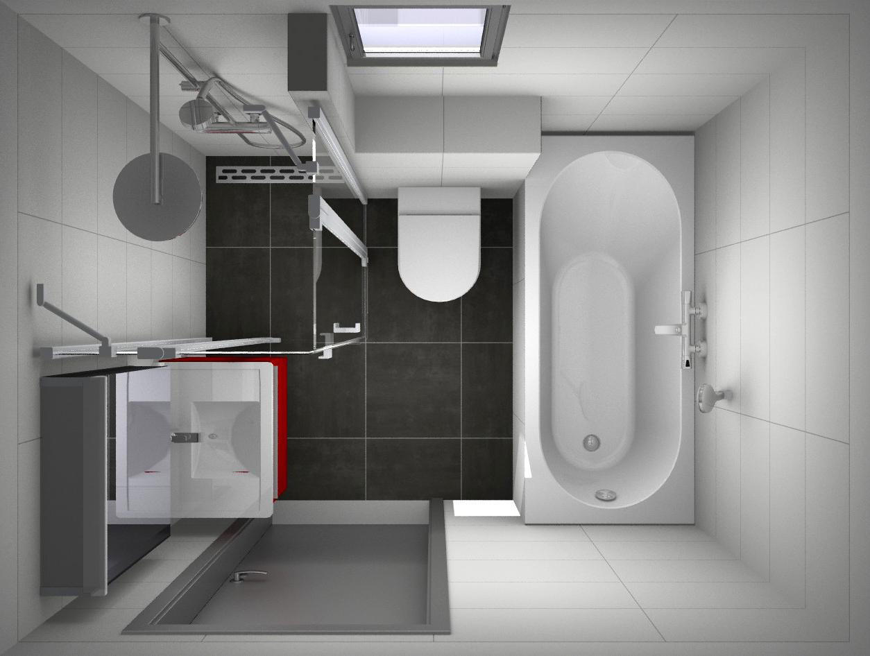 kleine-badkamer-ontwerp.jpg 1.254×946 pixels | Badkamer ideeën ...