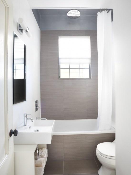 Bad Voor Kleine Badkamer ~ 10 voorbeelden van een hele kleine badkamer  Kleine Badkamers