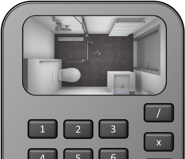 Zo schat je de kosten van een kleine badkamer - Kleine badkamers.nl