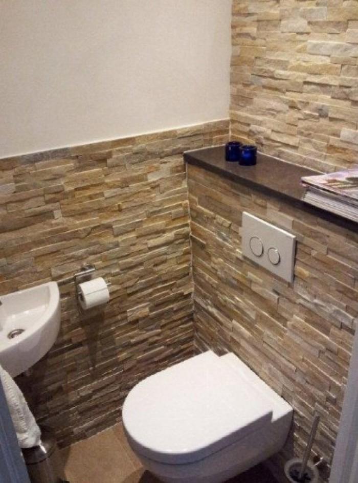 7 toilet idee n voor jouw nieuwe toiletruimte kleine - Wandbekleding voor wc ...