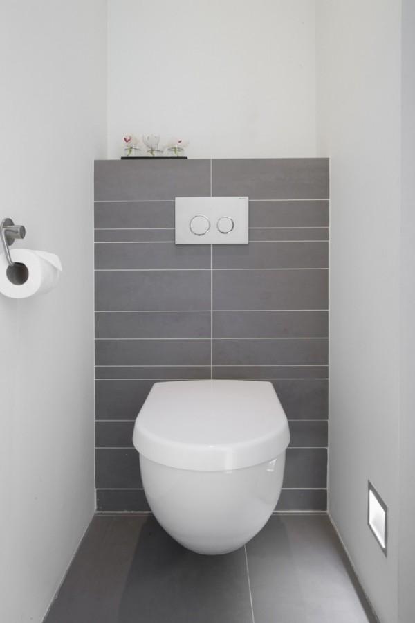 Kleine Badkamer Inrichting Ideeen: Kleine badkamer met schuin dak ...