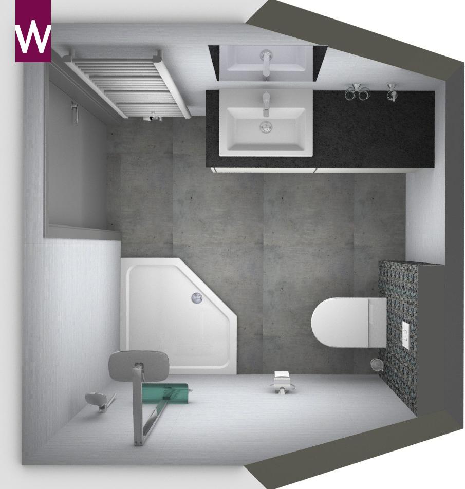Ontwerp badkamer: ontwerp badkamer interieurstylist showhome.