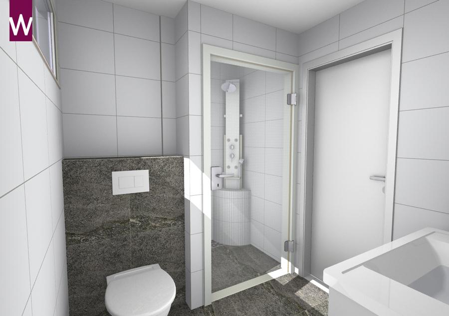 Ontwerp luxe kleine badkamer kleine for Ontwerp badkamer 3d