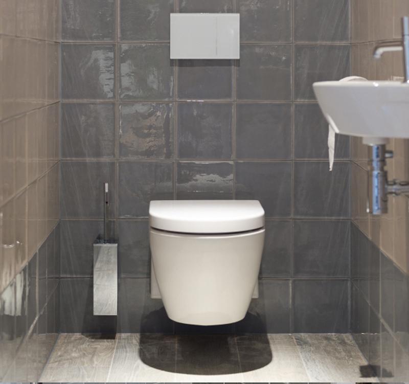 Kleine badkamer met vtwonen tegels kleine badkamers - Tegel model voor wc ...