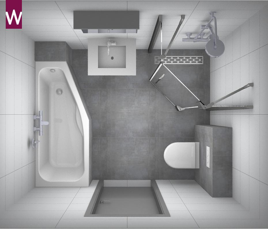 Kleine alles voor en over kleine badkamers - Badkamer in m ...