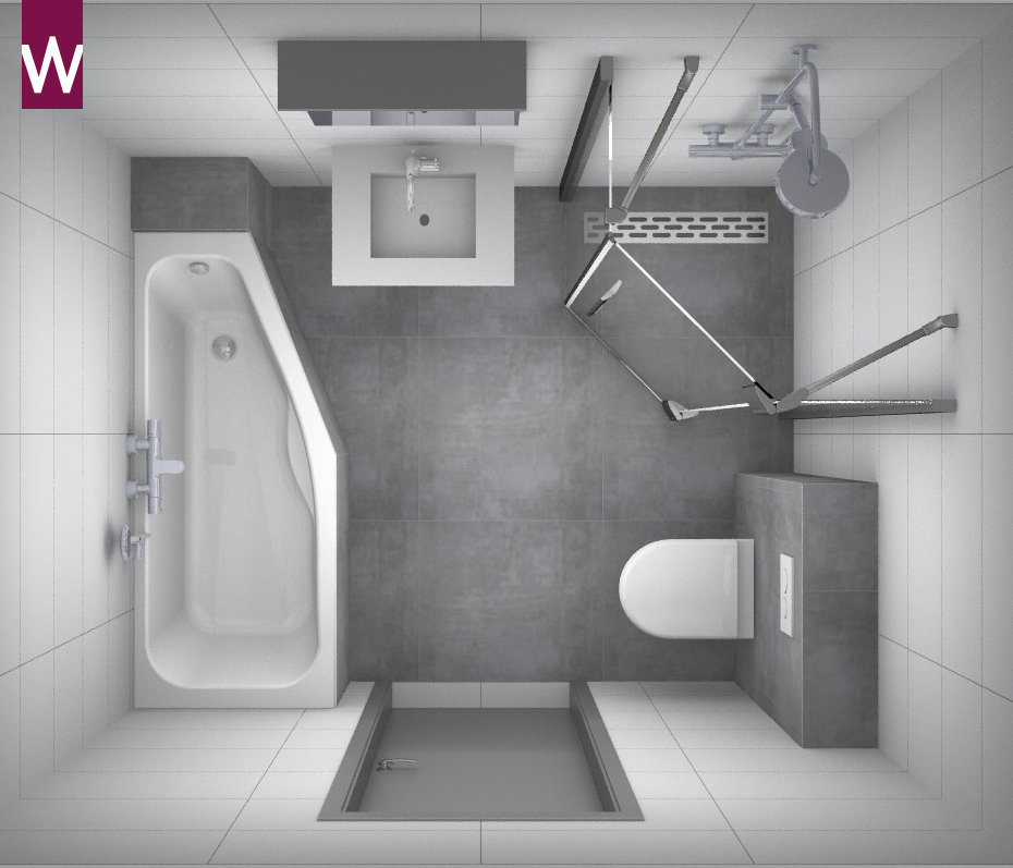 Kleine alles voor en over kleine badkamers - Badkamer m ...