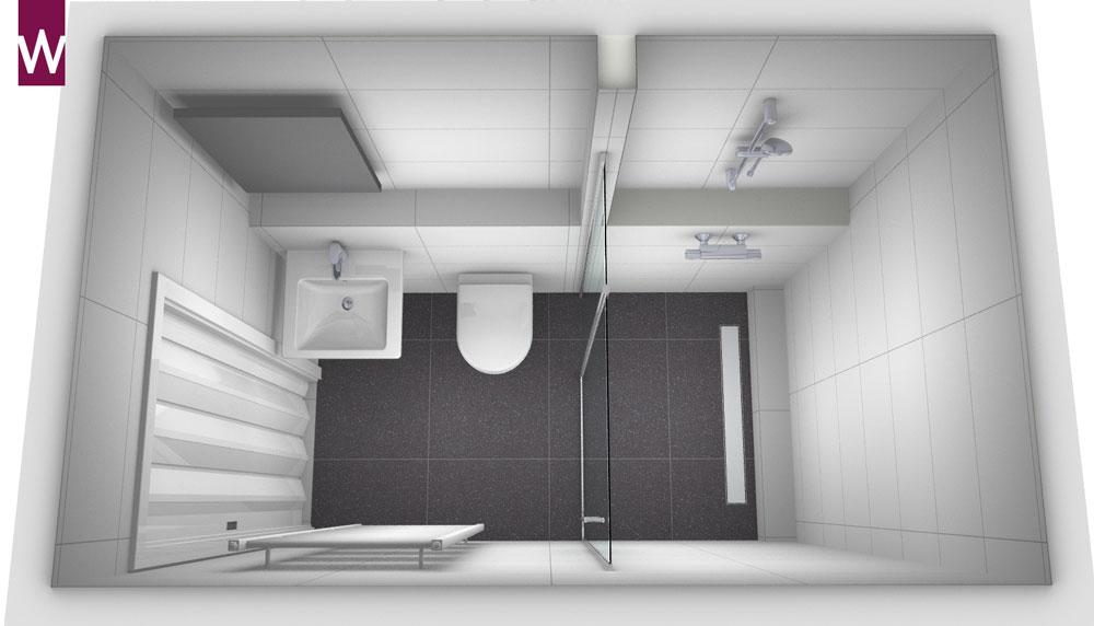 Kleine smalle badkamer kleine - Kleine betegelde badkamer ...
