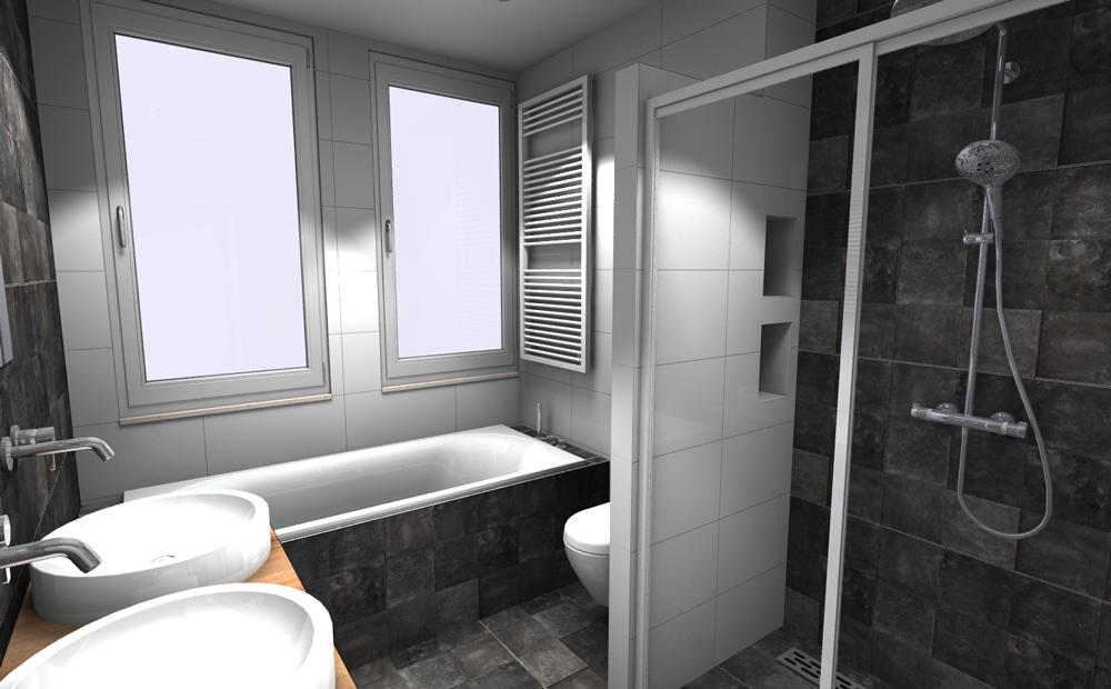 Tegels in de kleine badkamer wat is jouw stijl - Badkamer tegel helderwit ...