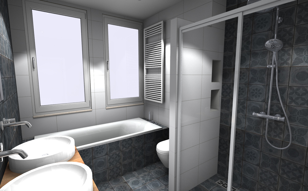 Tegels in de kleine badkamer wat is jouw stijl - Badkamer in m ...
