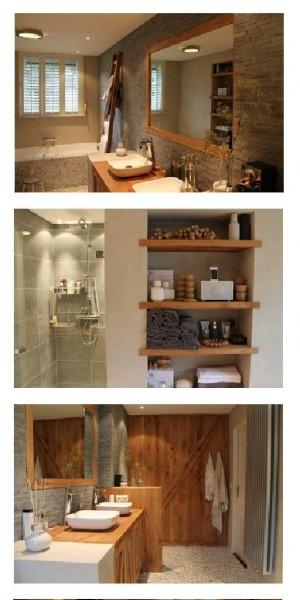 De-landelijke-badkamer - Kleine badkamers