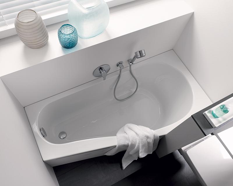 Klein bad badkamer