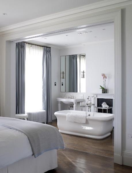 badkamer-in-slaapkamer-klassiek - Kleine badkamers