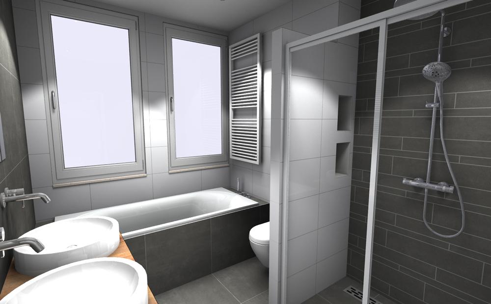 Kosten Badkamer Bouwen ~ Kleine badkamer inrichten