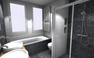 complete badkamer ontwerp