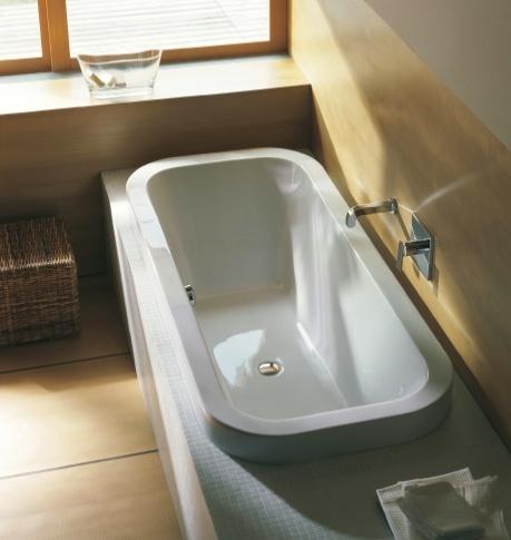Duravit Happy D ligbad 180 x 80 cm - Kleine badkamers