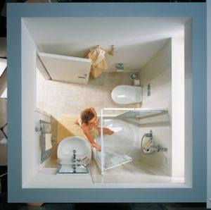 kleine badkamer kermi