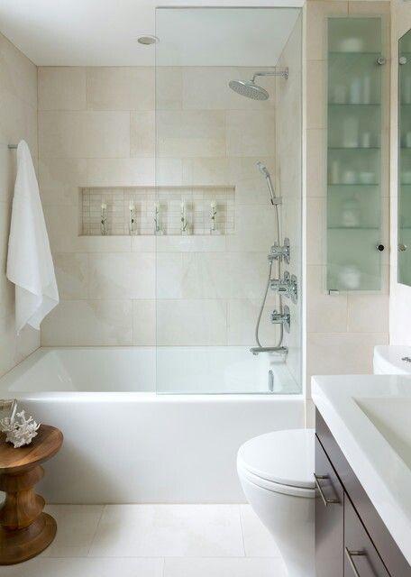 groter-laten-lijken-kleine-badkamer - Kleine badkamers