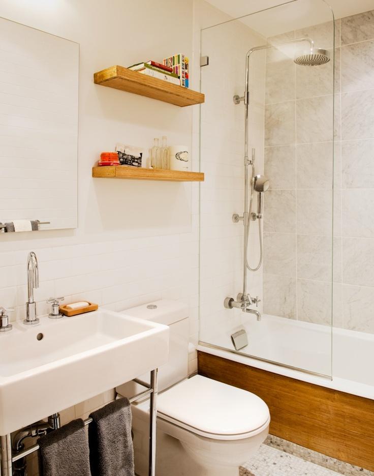 Kleine badkamer met Duravit vero - Kleine badkamers