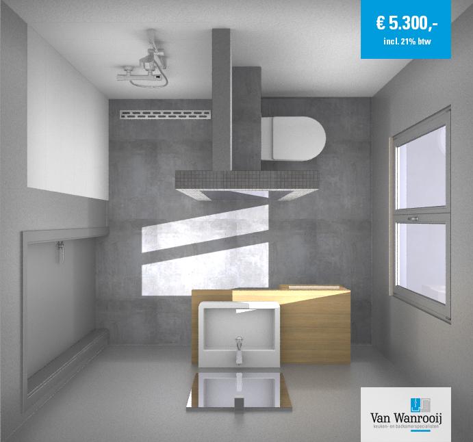 Kleine badkamer gestuct kleine badkamers for Badkamer laten ontwerpen
