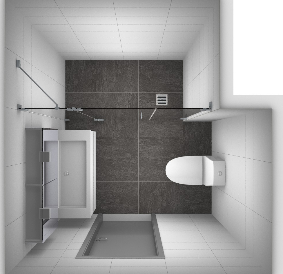 Kleine badkamer indelen kleine badkamers - Decoratie van een kleine badkamer ...