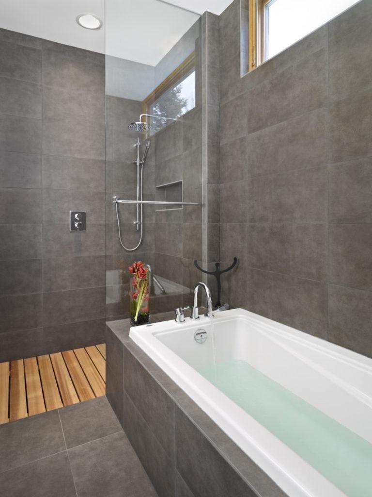 kleine-badkamer-modern - Kleine badkamers