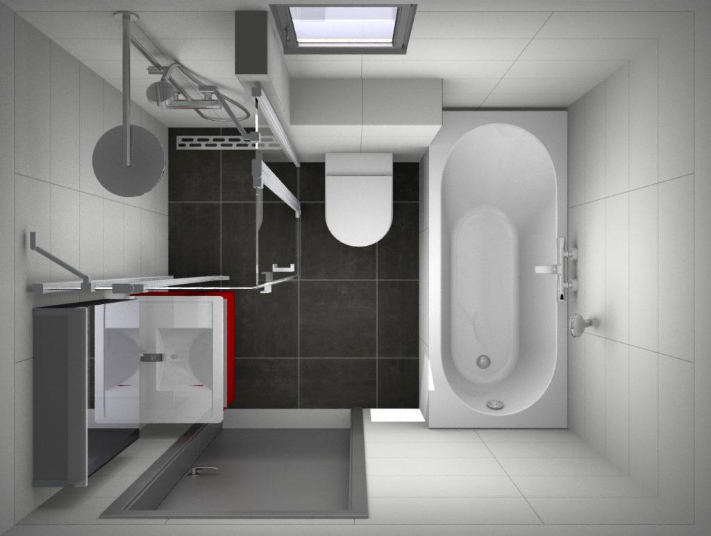 Onze showroom - Kleine badkamers