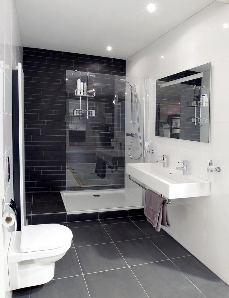 Showroomopstelling kleine badkamer kleine badkamers - Klein badkamer model met douche ...