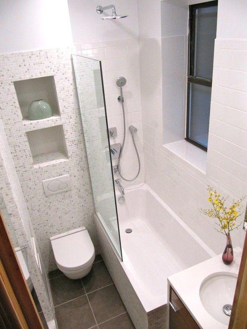 Voorbeeld kleine badkamer - Kleine badkamers