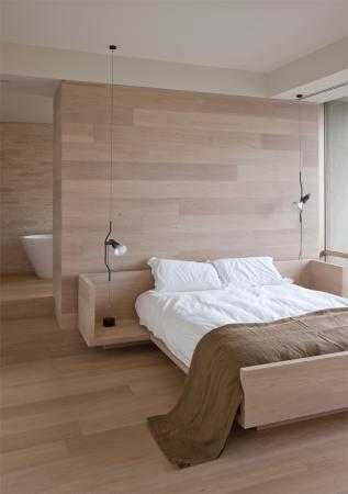 Voorbeeld badkamer in slaapkamer Kleine Badkamers