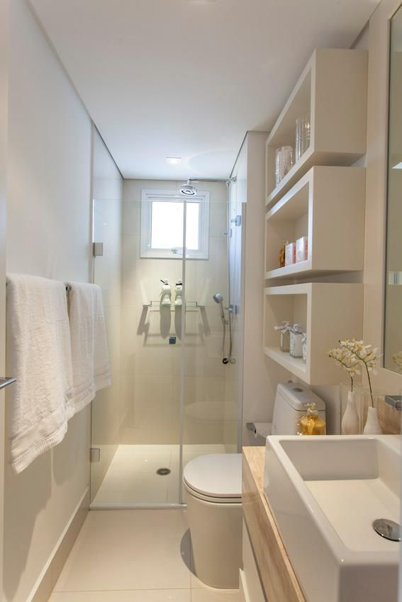 5 voorbeelden voor het indelen van een kleine badkamer, Badkamer