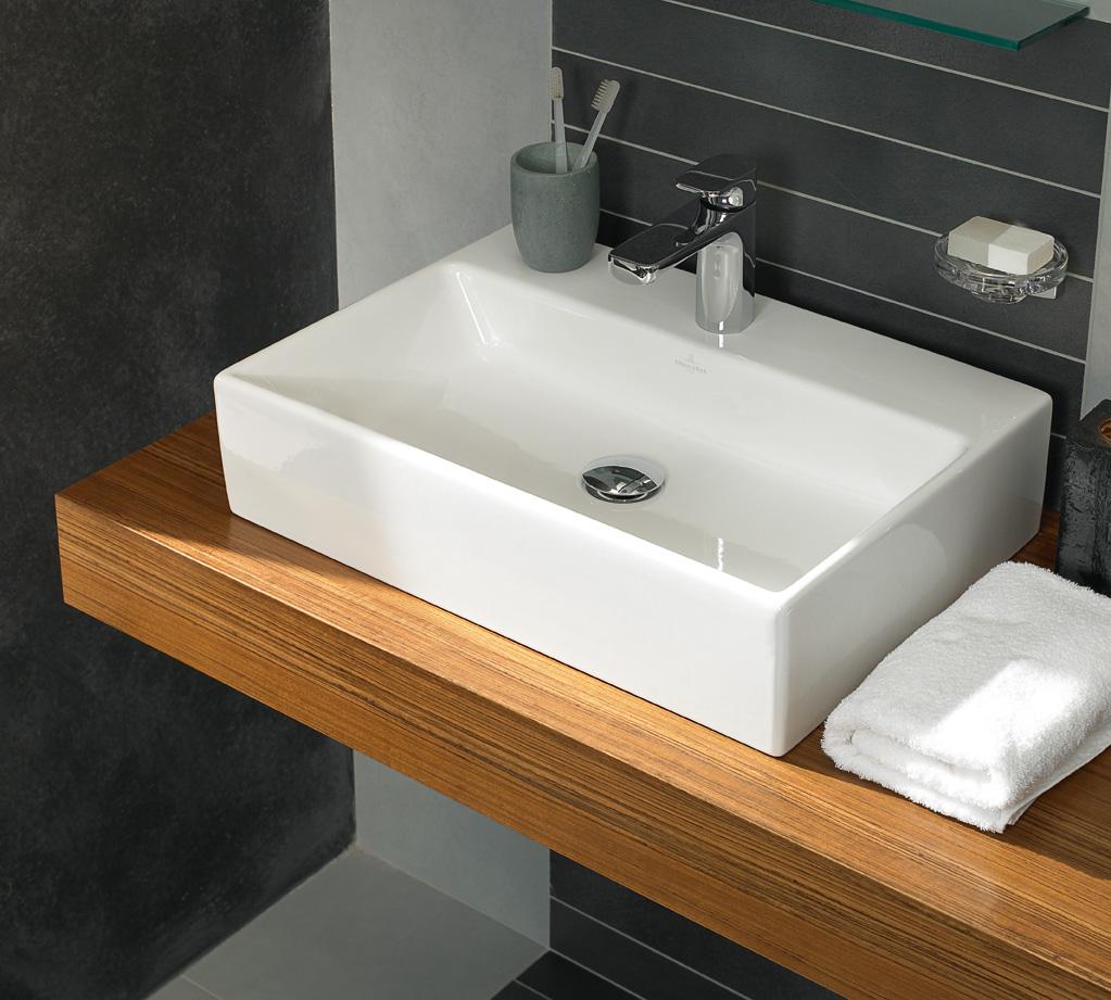 Wastafel Villeroy & Boch Memento - Kleine badkamers