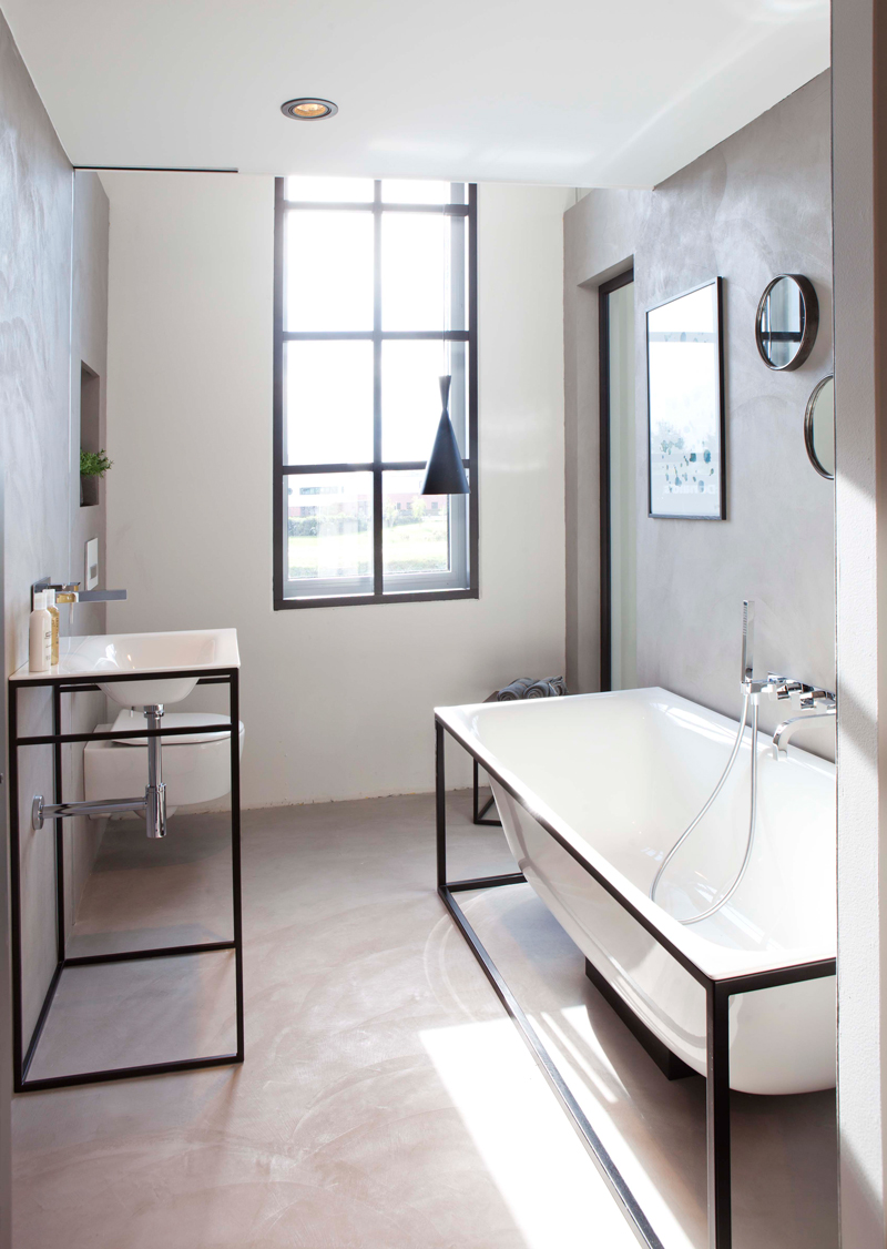 kleine badkamer inrichten archieven - kleine badkamers, Deco ideeën